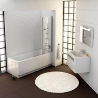 Stačiakampė vonia Ravak Chrome, 170x75