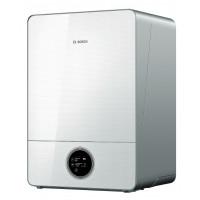 Dujinis kondensacinis katilas Bosch Condens, GC 9000iW, 20E, vandens ruošimas atskirame šildytuve, baltas