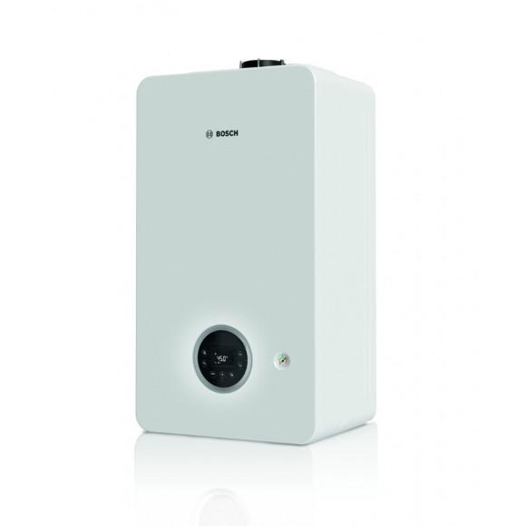 Dujinis kondensacinis katilas Bosch Condens, GC 2300iW, 24P, vandens ruošimas atskirame šildytuve, baltas