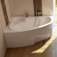 Akrilinė asimetriška vonia Ravak Asymmetric, 170x110 L