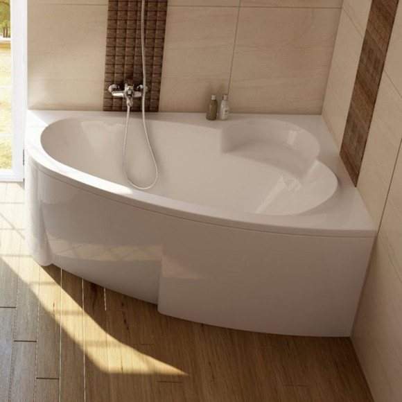 Akrilinė asimetriška vonia Ravak Asymmetric, 160x105 R
