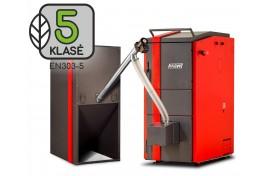Granulinis katilas Kalvis K-2-30 DG - universalus (32 kW)