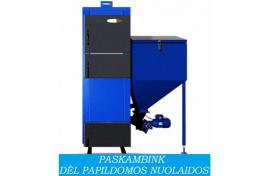Granulinis katilas Biokaitra BIO 30 (30 kW)