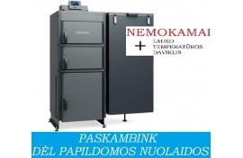Granulinis katilas Kamen MULTI 32 - universalus (32 kW, be automatinio užkūrimo)