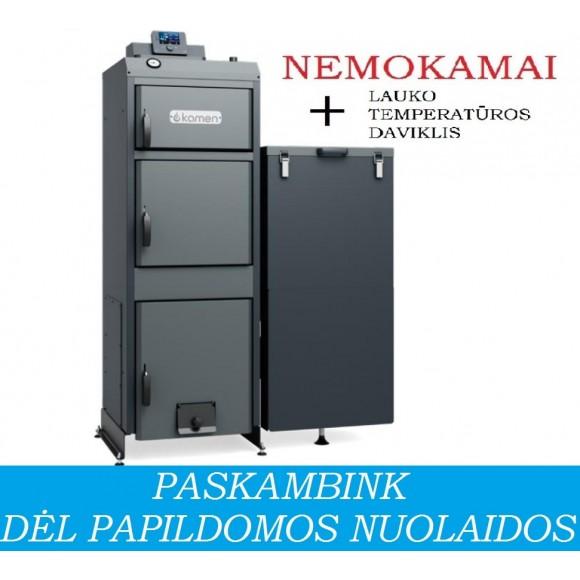 Granulinis katilas Kamen MULTI PLUS 14 - universalus (14 kW, be automatinio užkūrimo)