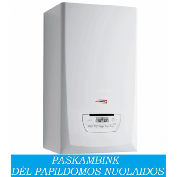 Dujinis katilas Protherm PANTHER 30 KKO šildymui, galima prijungti vandens šildytuvą (30 kW)