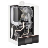 Dujinis katilas VIESSMANN Vitodens 111-W su integruotu 46 l vandens šildytuvu (32 kW)