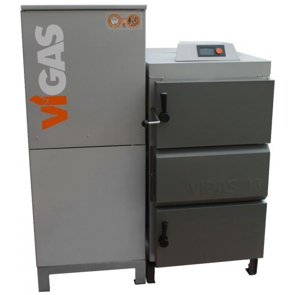 Granulinis katilas Vigas 18 DP universalus (18 kW)