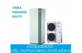 Šilumos siurblys Atlantic Alfea Excellia DUO A. I. 11 (10,8 kW) - su integruotu boileriu