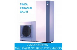 Šilumos siurblys Atlantic Alfea Extensa DUO A. I. 10 (10,0 kW) - su integruotu boileriu